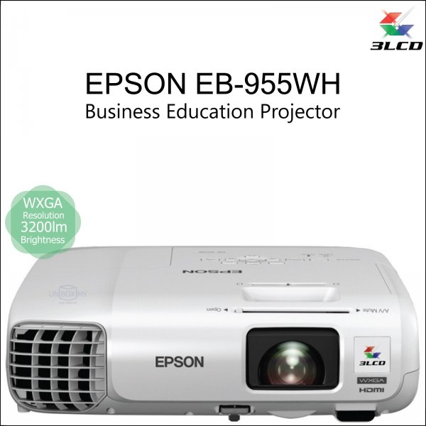Epson EB-955WH 3LCD WXGA Business Education Projector