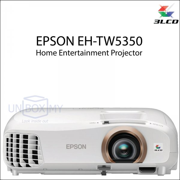 Epson EH-TW5350 Full HD 3D Home Theater Projector