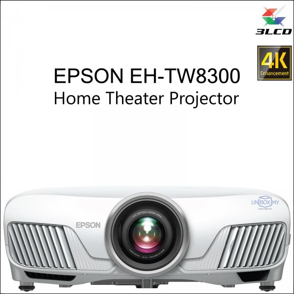 Epson EH-TW8300 Full HD 3D Home Theater Projector