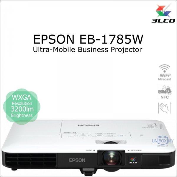 Epson EB-1785W 3LCD WXGA Ultra Mobile Projector