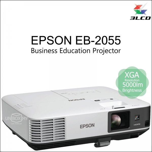 Epson EB-2055 3LCD XGA Business Education Projector