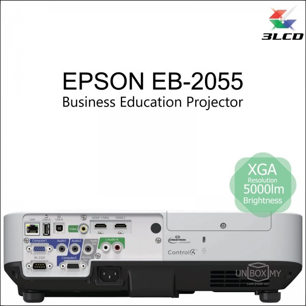Epson EB-2055 3LCD XGA Business Education Projector