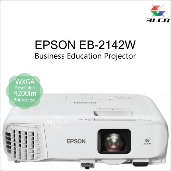 Epson EB-2142W 3LCD WXGA Business Education Projector