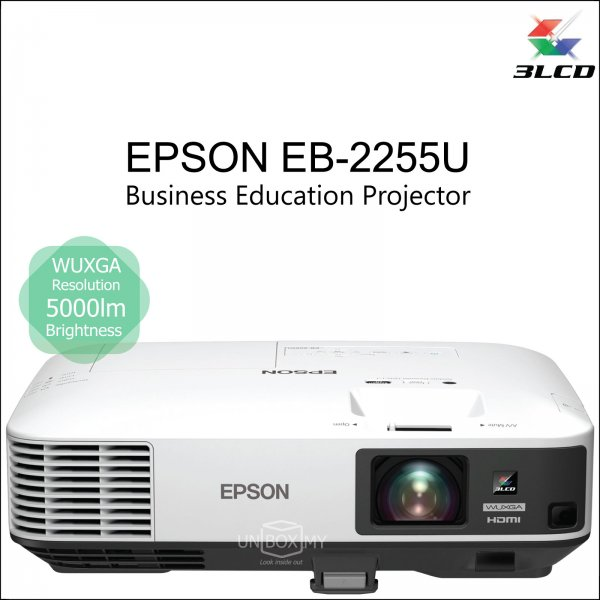 Epson EB-2255U 3LCD WUXGA Business Education Projector