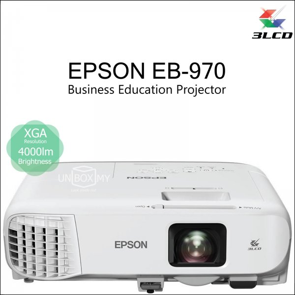 Epson EB-970 3LCD XGA Business Education Projector