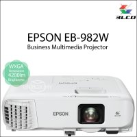 Epson EB-982W 3LCD WXGA Business Education Projector