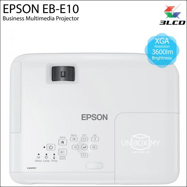 Epson EB-E10 3LCD XGA Business Multimedia Projector