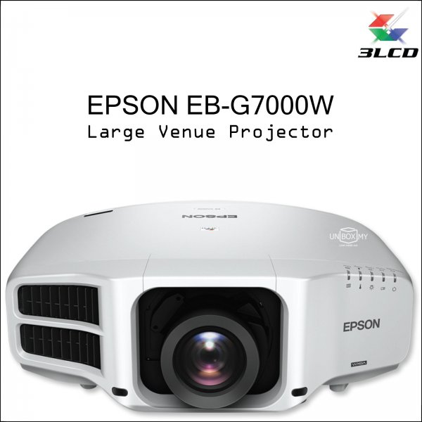 Epson EB-G7000W 3LCD WXGA Large Venue Projector