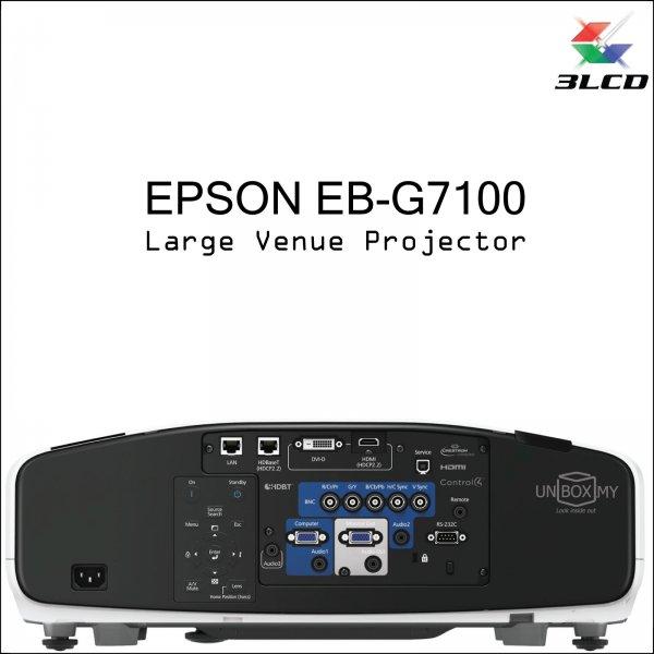 Epson EB-G7100 3LCD XGA Large Venue Projector