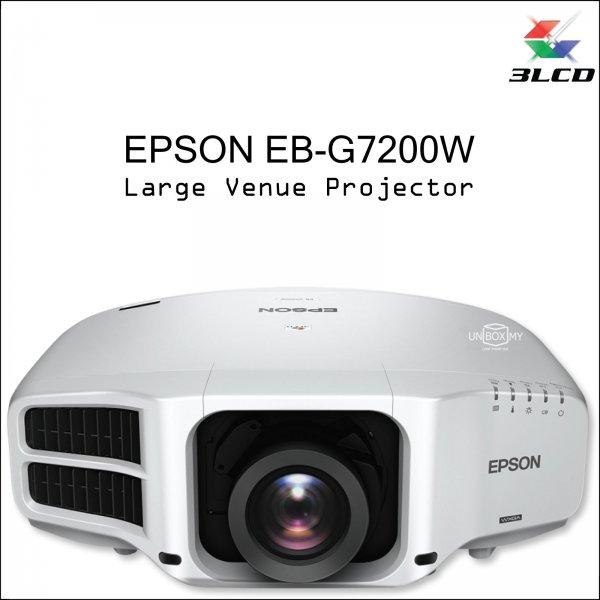 Epson EB-G7200W 3LCD WXGA Large Venue Projector