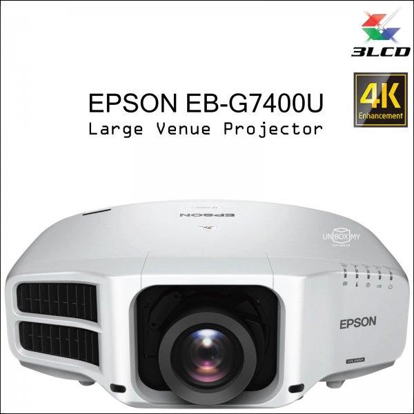 Epson EB-G7400U 3LCD WUXGA Large Venue Projector
