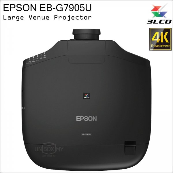 Epson EB-G7905U 3LCD WUXGA Large Venue Projector