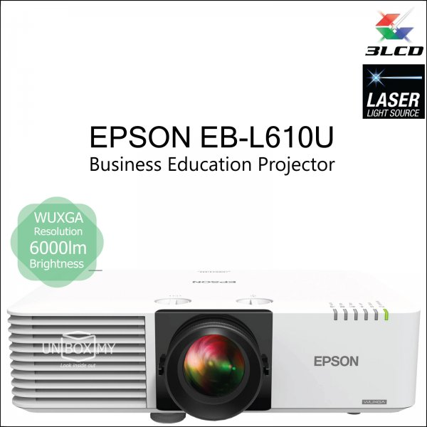 Epson EB-L610U 3LCD Laser WUXGA Business Education Projector