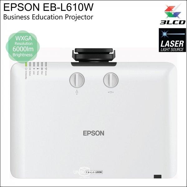 Epson EB-L610W 3LCD Laser WXGA Business Education Projector