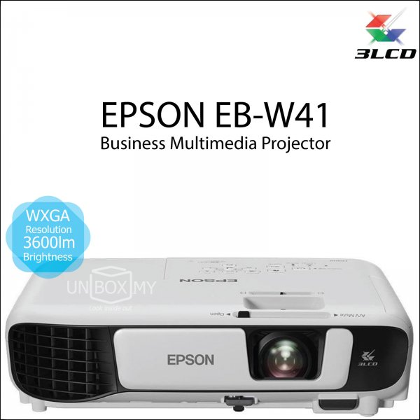 Epson EB-W41 3LCD WXGA Business Multimedia Projector