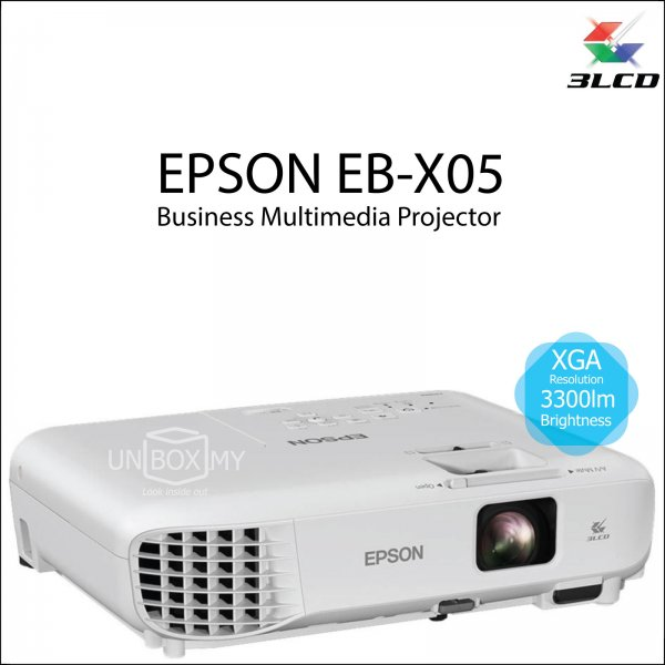 Epson EB-X05 3LCD XGA Business Multimedia Projector