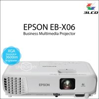 Epson EB-X06 3LCD XGA Business Multimedia Projector