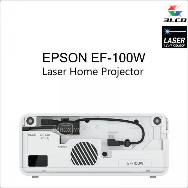 Epson EF-100W 3LCD Laser WXGA Home Entertainment Projector