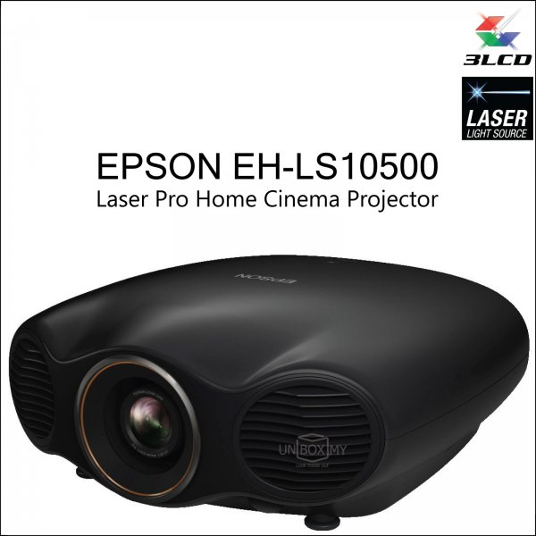 Epson EH-LS10500 Laser 4K Enhancement Home Cinema Projector