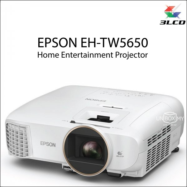 Epson EH-TW5650 Full HD 3D Home Theater Projector
