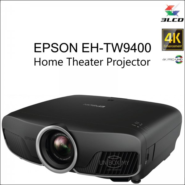 Epson EH-TW9400 4K PRO-UHD 3D Home Theater Projector
