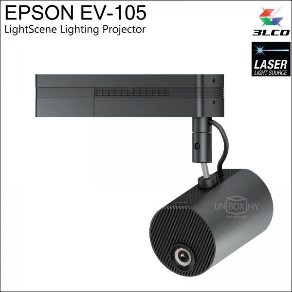 Epson EV-105 LightScene Laser WXGA Lighting Projector