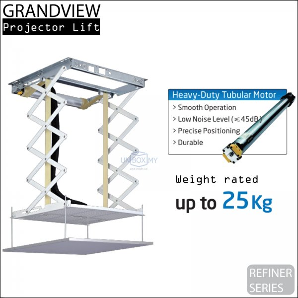 GRANDVIEW Refiner Series Motorized Projector Lift