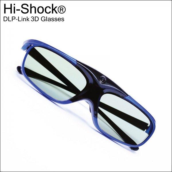 Hi-Shock YDD3PG DLP-Link Active Shutter 3D Glasses
