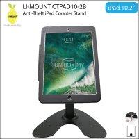LI-MOUNT CTPAD10-2B Anti-Theft iPad Counter-top Kiosk Stand