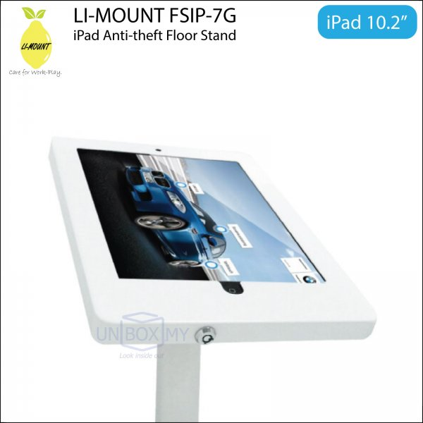 LI-MOUNT FSIP-7G Anti-Theft iPad 10.2-inch Floor Stand