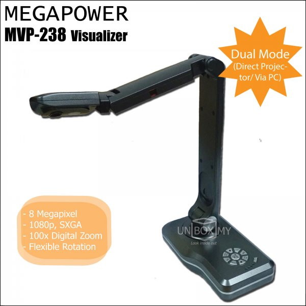 MEGAPOWER MVP-238 8-megapixels Document Camera