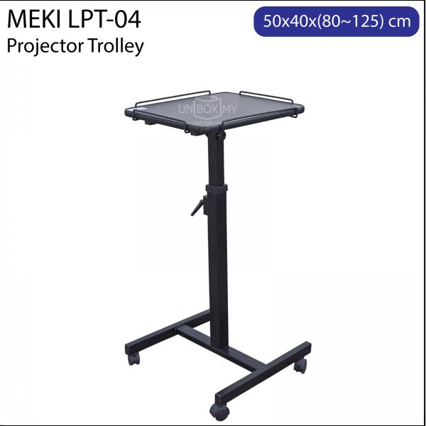 Meki LPT-04 Projector Trolley Cart Stand