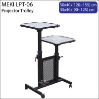Meki LPT-06 Projector Laptop Trolley Cart Stand