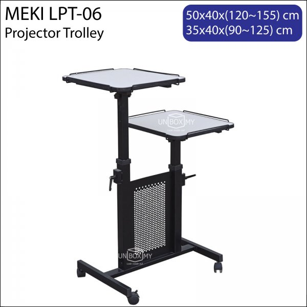 Meki LPT-06 Projector Laptop Trolley Cart Stand