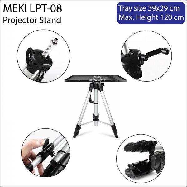 Meki LPT-08 Projector Laptop Tripod Stand