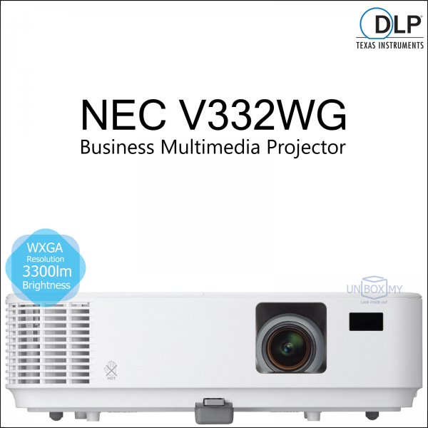 NEC NP-V332WG DLP WXGA Business Multimedia Projector