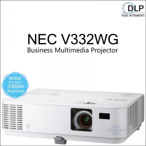 NEC NP-V332WG DLP WXGA Business Multimedia Projector