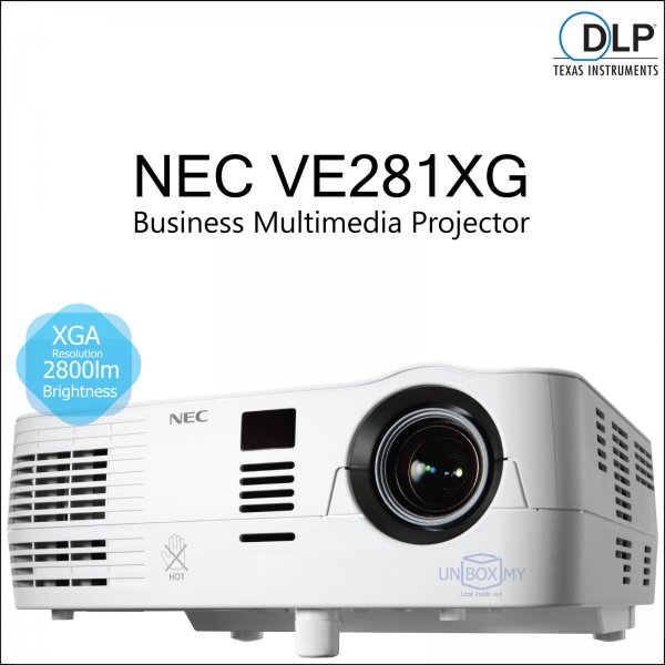 NEC VE281XG DLP XGA Business Multimedia Projector