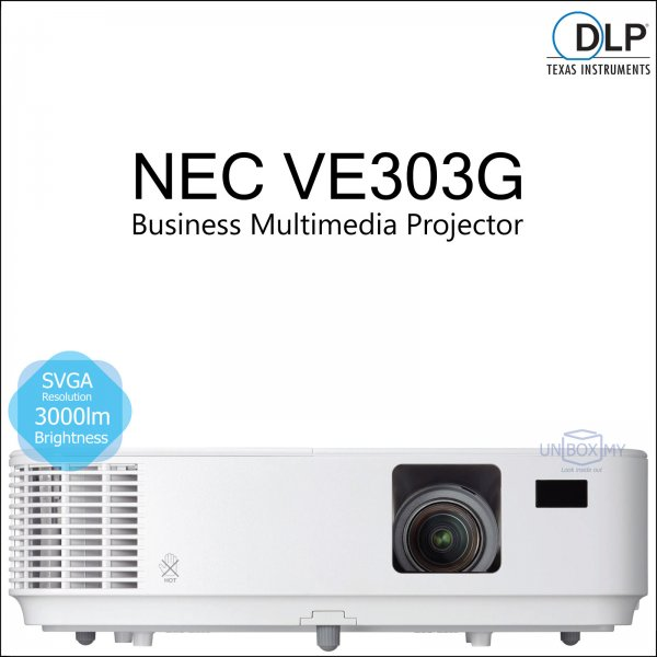 NEC NP-VE303G DLP SVGA Business Multimedia Projector
