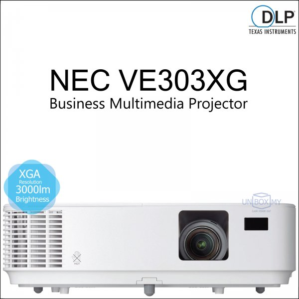 NEC NP-VE303XG DLP XGA Business Multimedia Projector