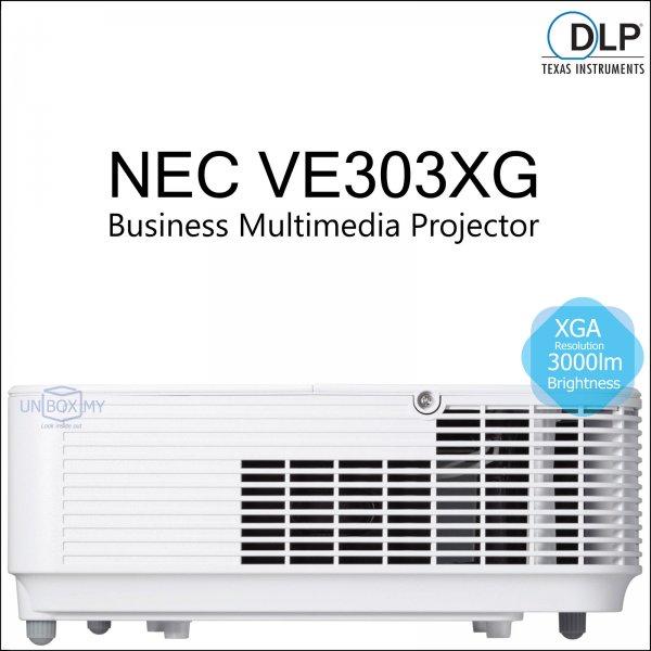 NEC NP-VE303XG DLP XGA Business Multimedia Projector