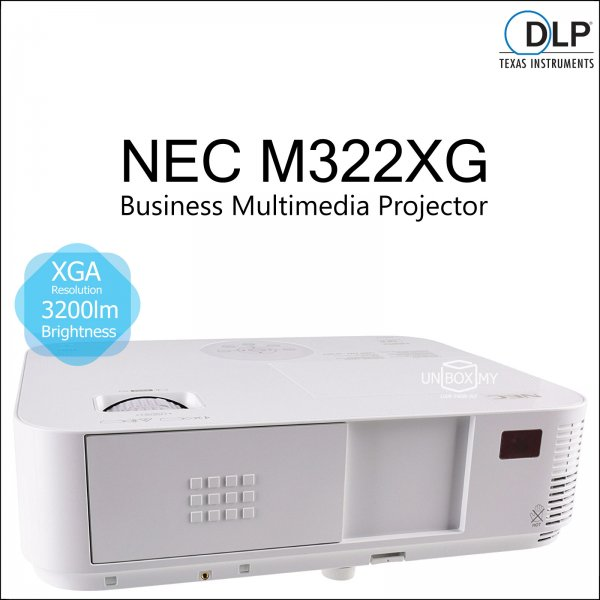 NEC NP-M322XG DLP XGA Business Multimedia Projector