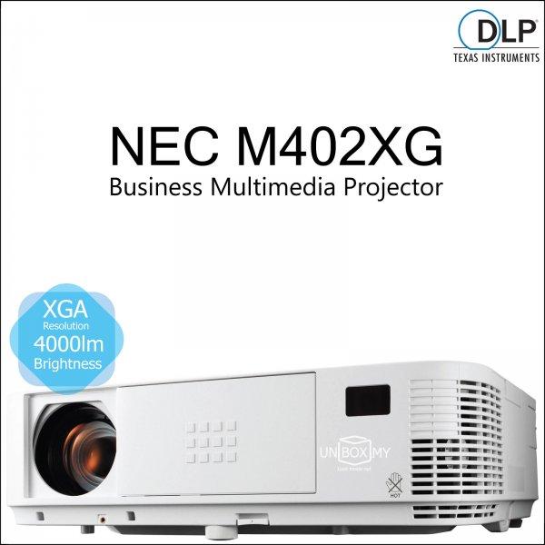 NEC NP-M402XG DLP XGA Business Multimedia Projector