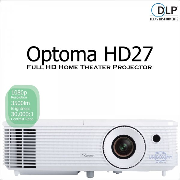 Optoma HD27 DLP Full HD Home Theater Projector