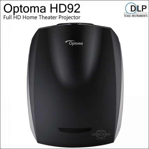 Optoma HD92 DLP Full HD Home Theater Projector