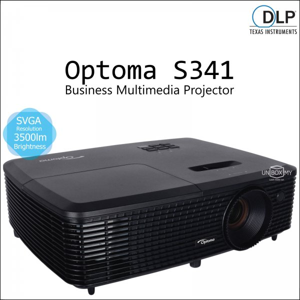 Optoma S341 DLP SVGA Business Multimedia Projector