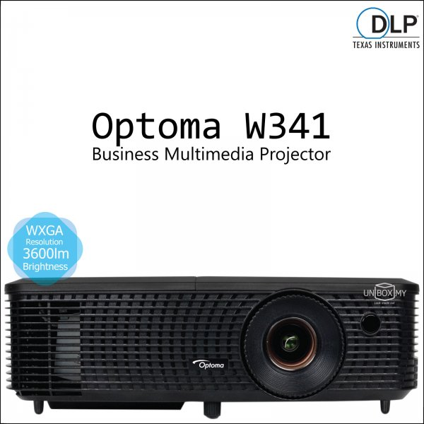 Optoma W341 DLP WXGA Business Multimedia Projector