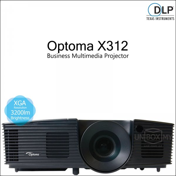 Optoma X312 DLP XGA Business Multimedia Projector