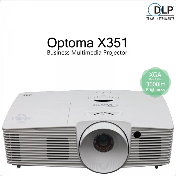 Optoma X351 DLP XGA Business Multimedia Projector