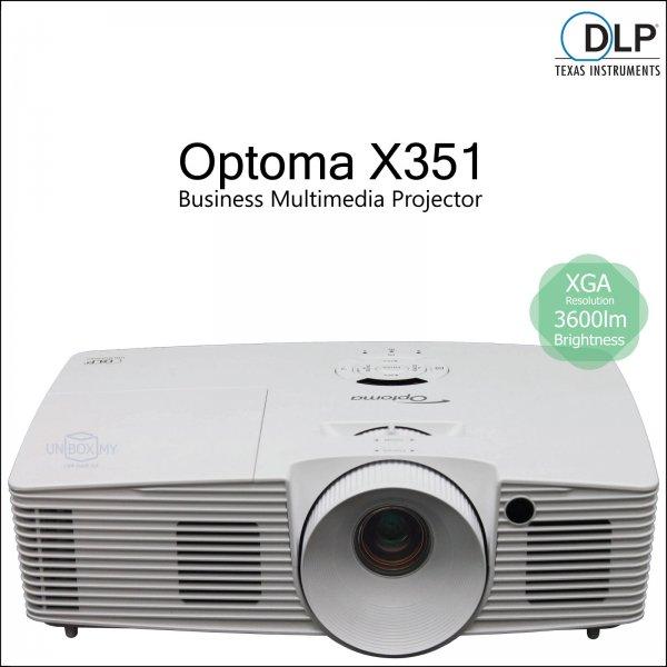 Optoma X351 DLP XGA Business Multimedia Projector
